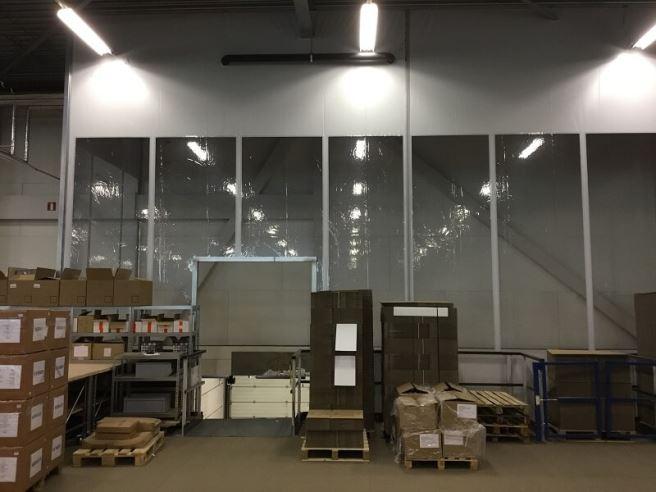 Afscheidingsgordijnen om ruimtes af te scheiden | FAAC BV